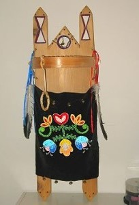 anishinaabe baby cradle