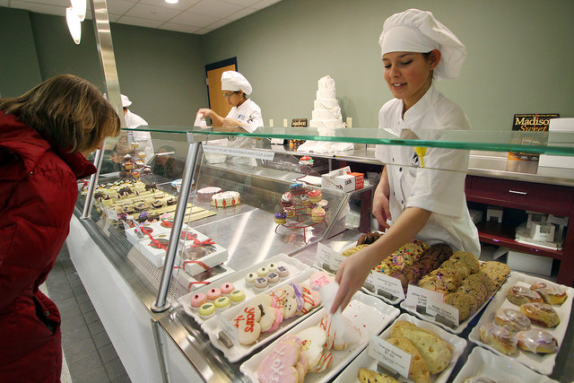 madison college pastry counter