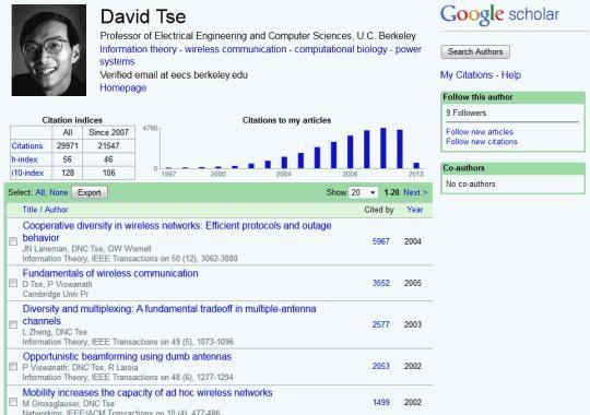Google Scholar Evaluation Based On Scientific Publishing
