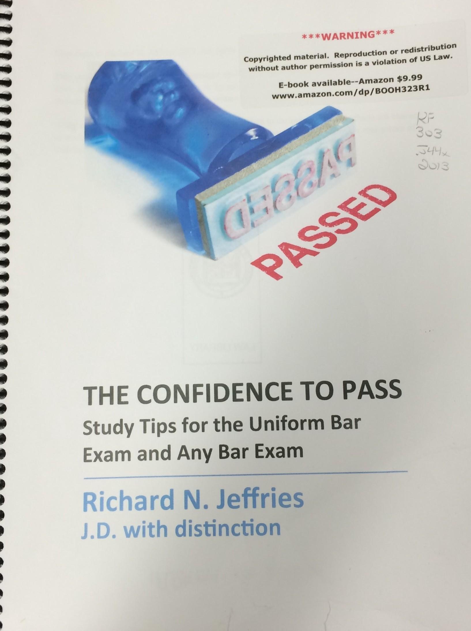 Bar Exam Materials - Study Aid Publications & Resources