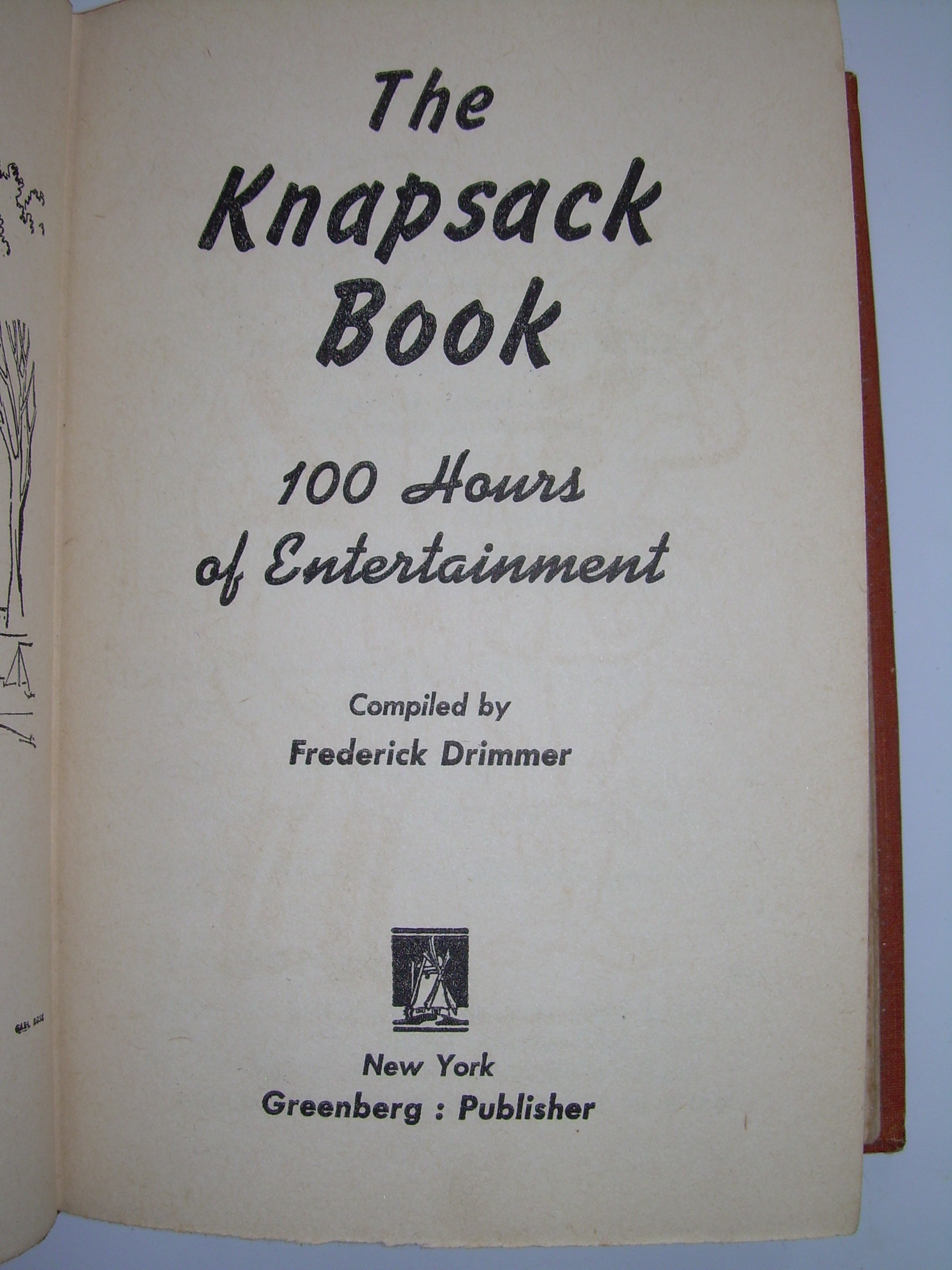 Example book title page