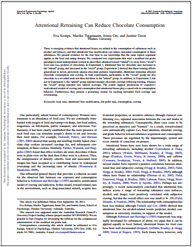 Example of journal article first page
