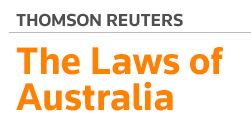 Image Source: The Laws of Australia - Thomson Reuters