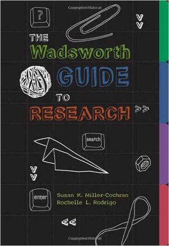 Book cover: The wadsworth guide to research
