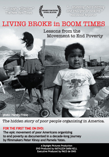 Book cover: living broke in boom times