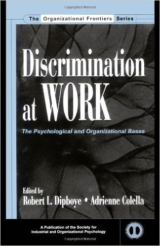Book cover: discrimination at work