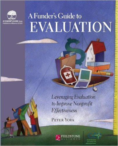 Book cover: a funder's guide to evaluation