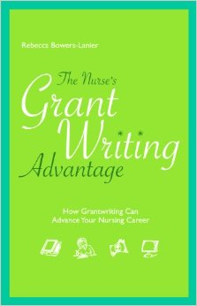 Book cover: the nurse's grant writing advantage
