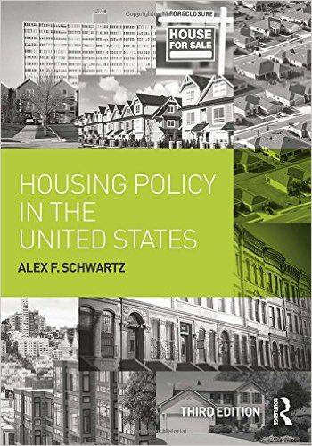 Book cover: housing policy in the united states