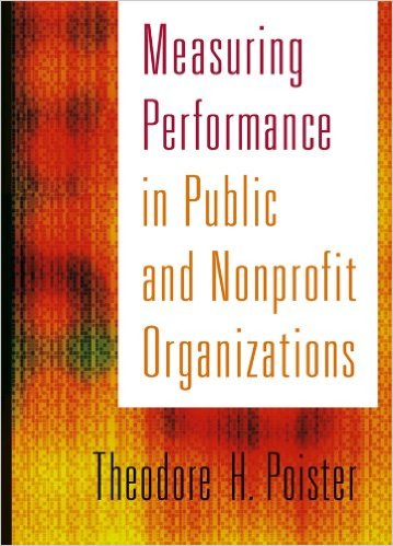 Book cover: measuring performance in public and nonprofit organizations