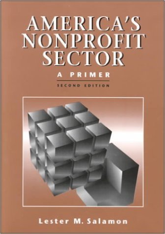 Book cover: america's nonprofit sector