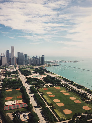 Chicago Skyline by Chase I. Carson
