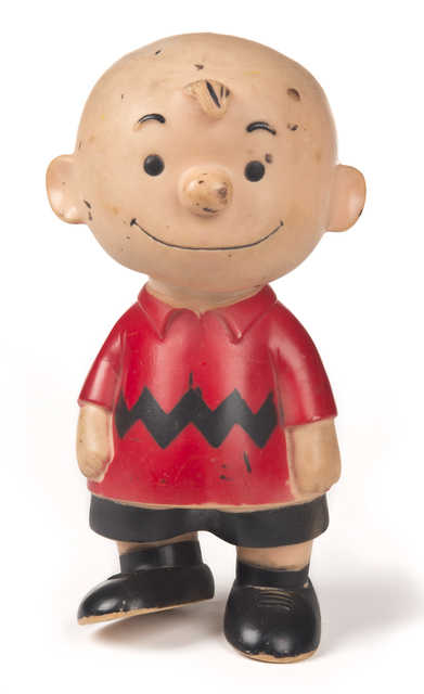 Charlie Brown figurine, not earlier than 1958.