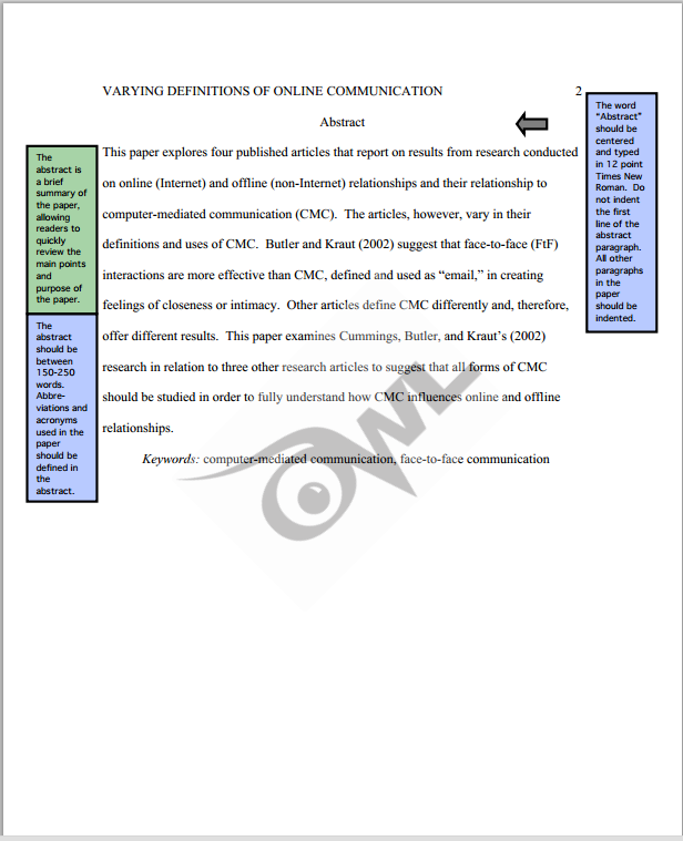 apa sample paper purdue owl  kinesiology  libguides at mississippi  kinesiology apa sample paper purdue owl