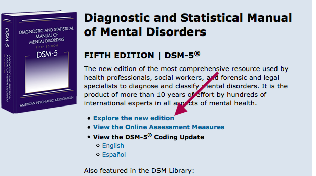 Where Can I Find The Dsm 5 Diagnostic And Statistical Manual Of
