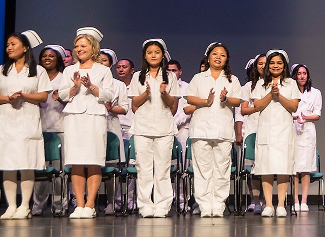 Nursing Program students at LaGuardia Community College