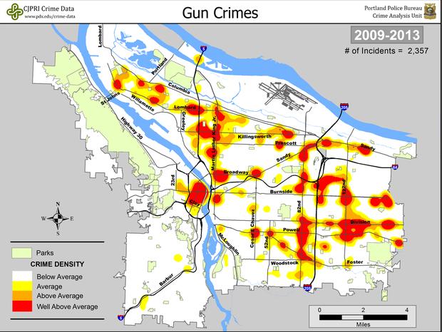 PortlandOregon Data Geography Research Guides at Portland