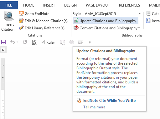 Screenshot showing the location of the Update Citations button on World (PC)