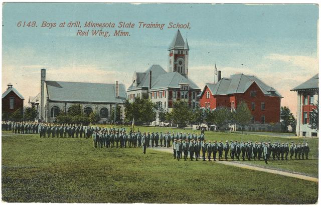 red wing training school for boys girls state prisons