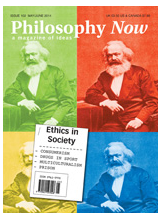 Cover of Philosophy Now
