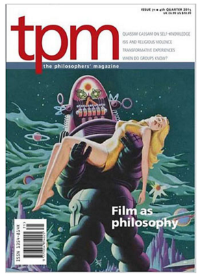 cover of The Philosopher's Magazine