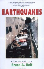 "Image of a book, ""Earthquakes,"" by Bruce A. Bolt"