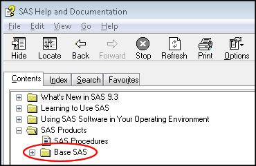 The SAS 9 3 User Interface - SAS Tutorials - LibGuides at