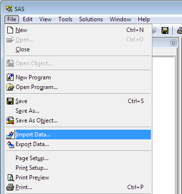 Importing Excel Files into SAS - SAS Tutorials - LibGuides