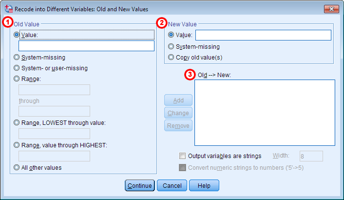 spss how to change labels for all variables