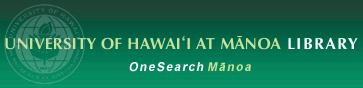 OneSearch Mānoa