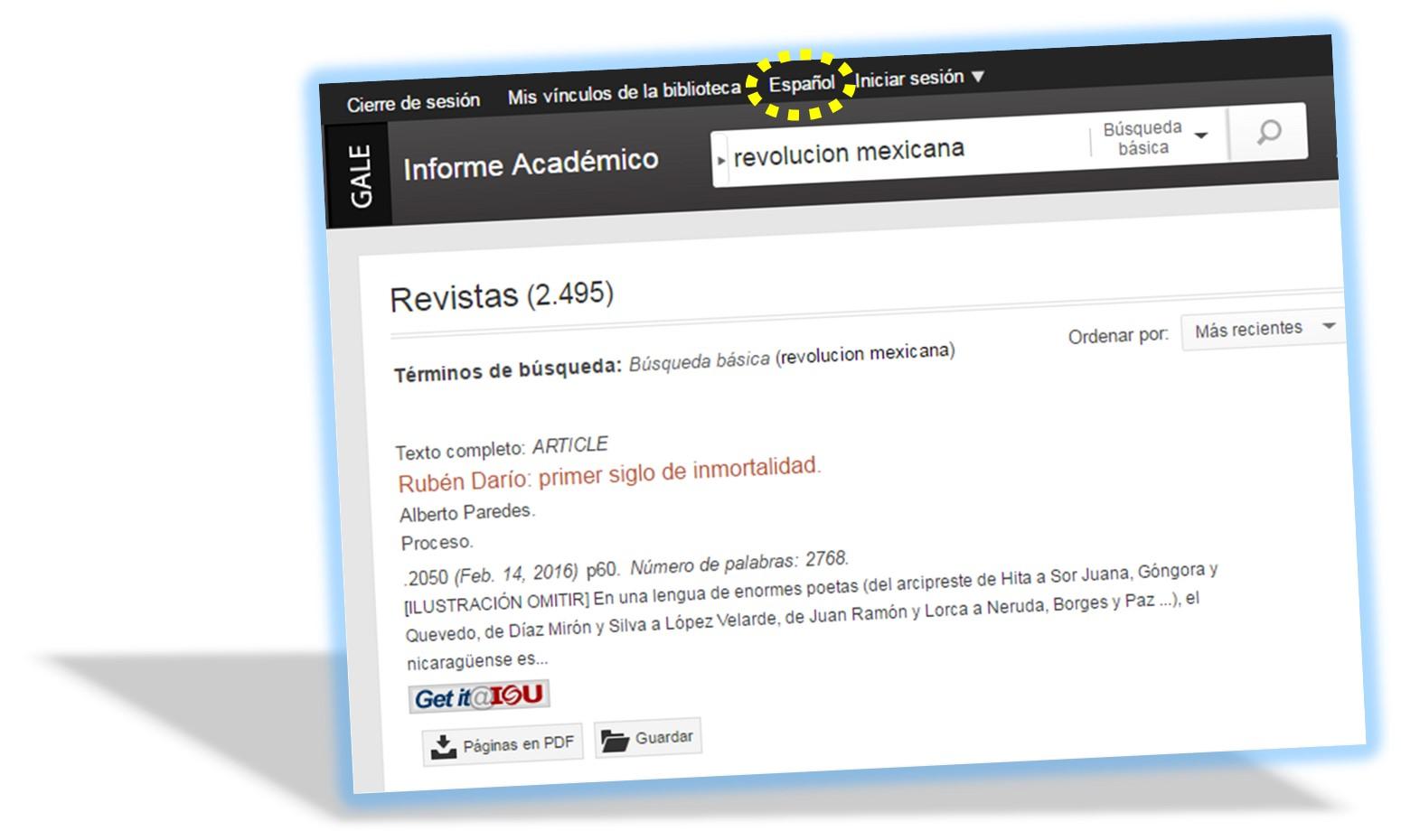 Informe Académico