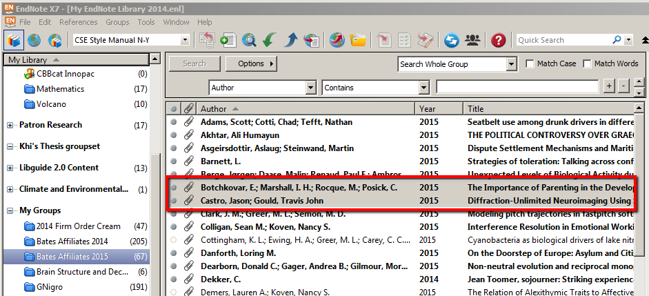 Google Docs Endnote Research Guides At Bates College