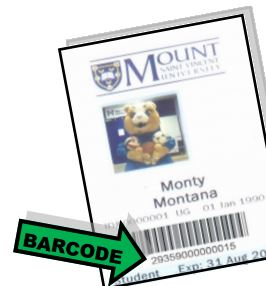 Image of Mount ID card