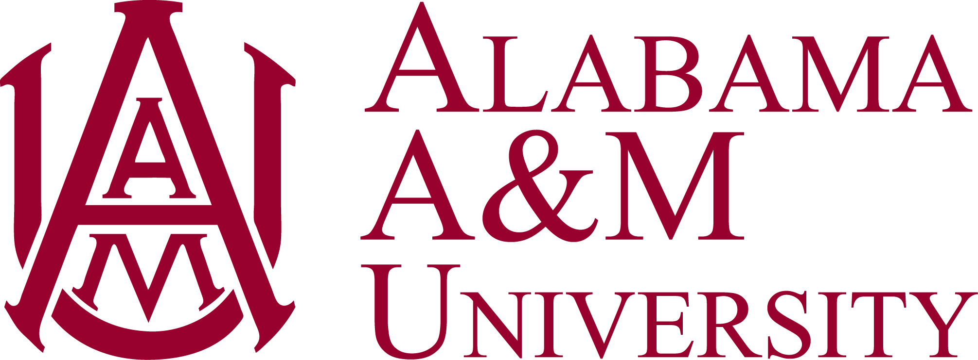 Alabama A&M University stacked logo