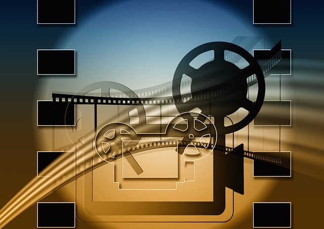 An image depicting a film projector.
