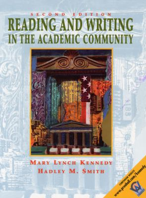 Reading and Writing in the Academic Community with 2001 APA Guidlines Book Cover