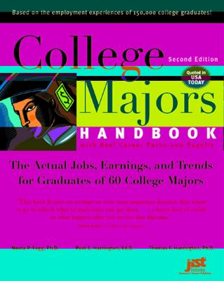 College Majors Handbook with Real Career Paths and Payoffs Book Cover