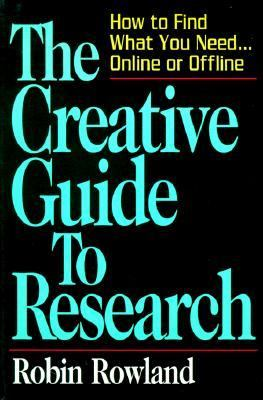 The Creative Guide to Research Book Cover