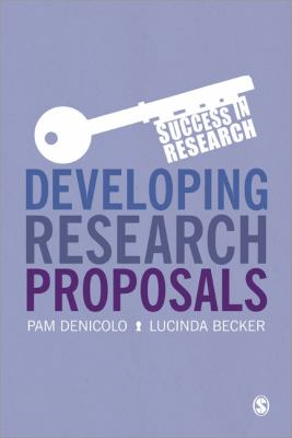 Developing Research Proposals Book Cover