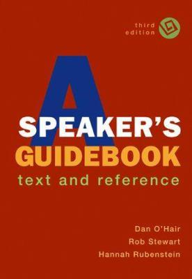 A Speaker's Guidebook Book Cover