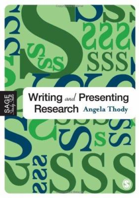 Writing and Presenting Research Book Cover