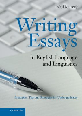 Writing Essays in English Language and Linguistics Book Cover