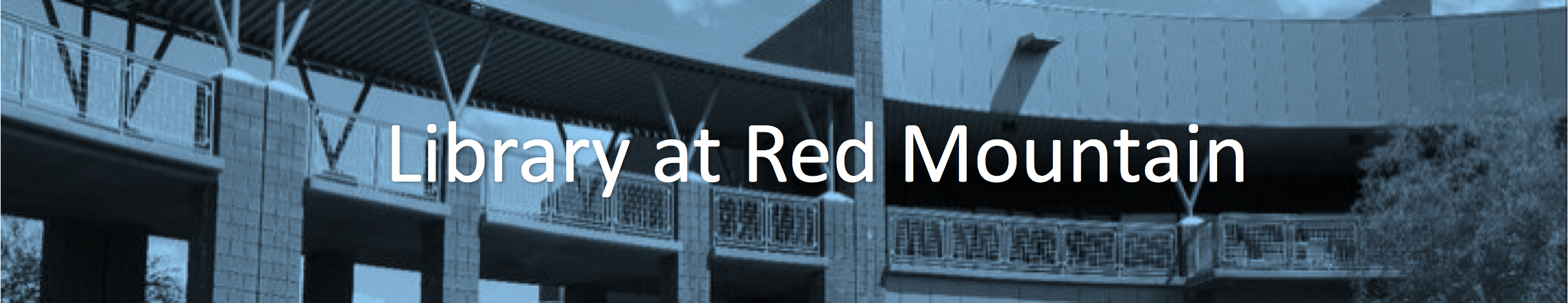 Red Mountain Library Header