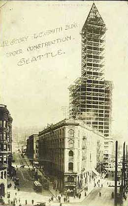 historical image of the Smith Tower