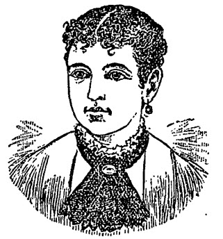 image of Jennie Clark from the Boston Globe, 1879