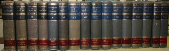 Encyclopedia of World Art, 16 volumes