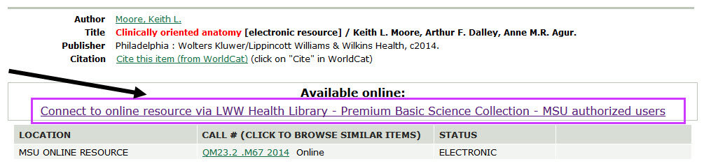 LWW Health Libraries - Creating Stable Links to Medical Ebooks ...