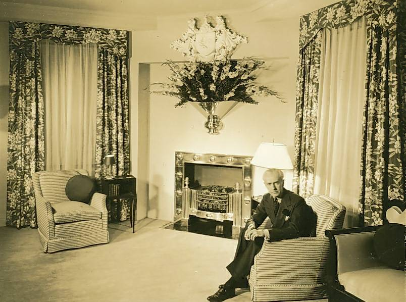 Joseph Cameron Cross. At Home. Ritz Carlton. New York. [nd]