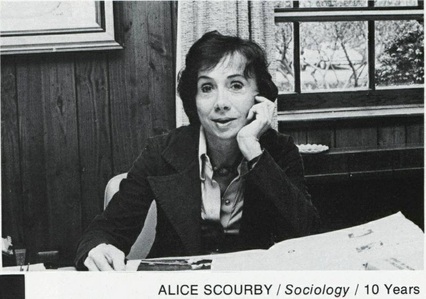 Alice Scourby in 1978