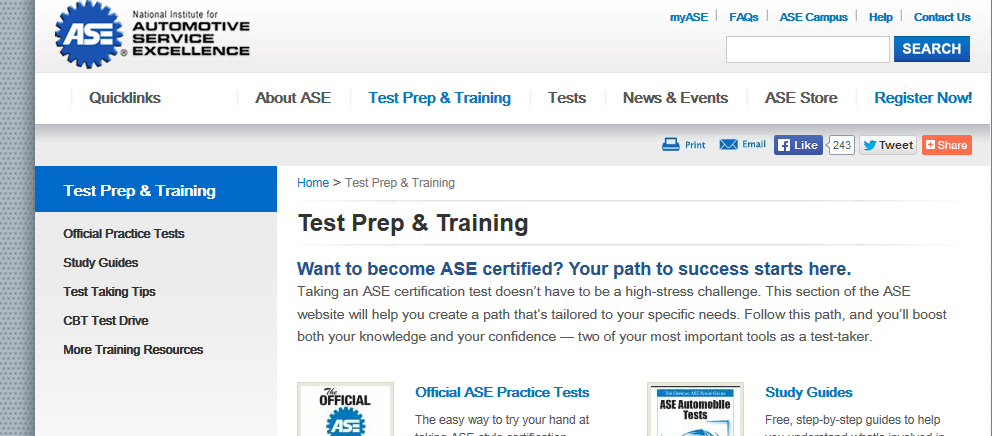 ASE Certification - Automotive Technology - LibGuides at